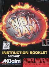 NBA Jam: Tournament Edition (Instruction Manual)