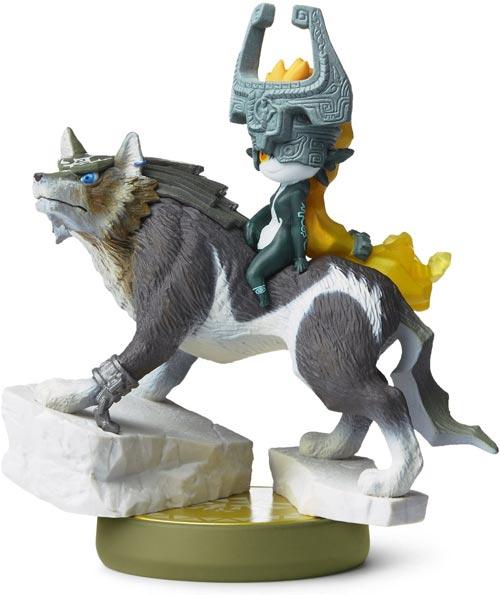 amiibo Wolf Link Legend of Zelda