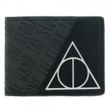 Harry Potter Deathly Hallows Black Bi-Fold Wallet