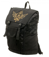 Legend of Zelda Skyward Sword Laptop Backpack with Molded Pocket