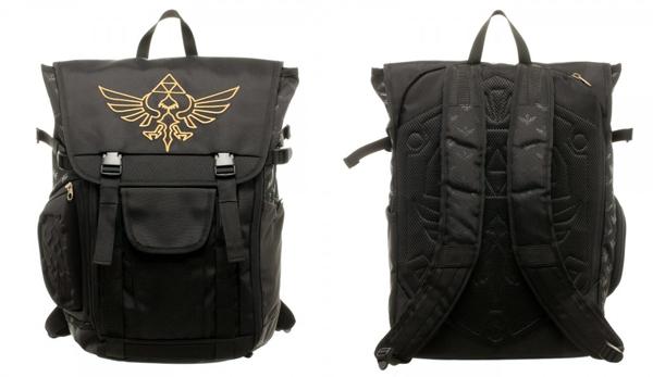 Legend of Zelda Skyward Sword Laptop Backpack with Molded Pocket