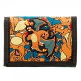 Pokemon Charizard Tri-Fold Wallet