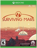 XB1 Surviving Mars Boxart