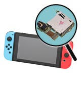 Nintendo Switch Repairs: Game Card Slot w/ Audio Jack Replacement