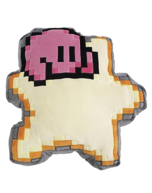 Kirby 8-Bit Star 13 Inch Cushion