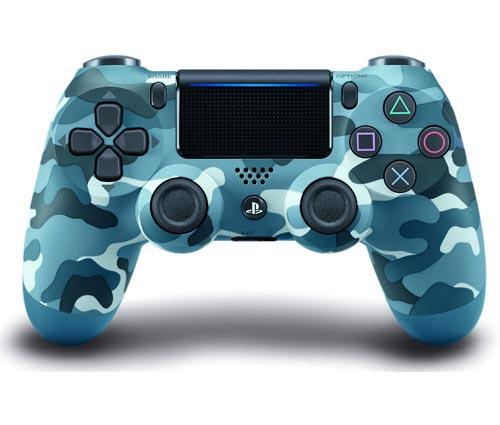 PlayStation 4 Dualshock 4 Controller Blue Camouflage