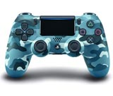 PlayStation 4 Dualshock 4 Controller Blue Camouflage