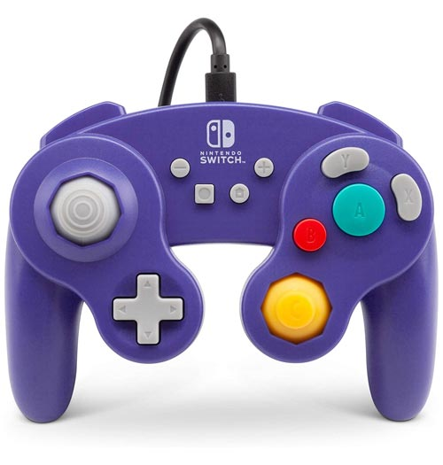 Nintendo Switch Wired GameCube Controller: Purple