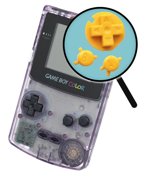 Game Boy Color Repairs: Button Replacement Service