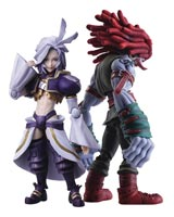 Final Fantasy IX Bring Arts Kuja & Amarant Coral Action Figure Set