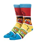 Sesame Street Friends Crew Socks