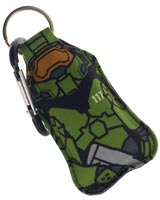 Halo Master Chief Hand Sanitizer Bottle Keychain