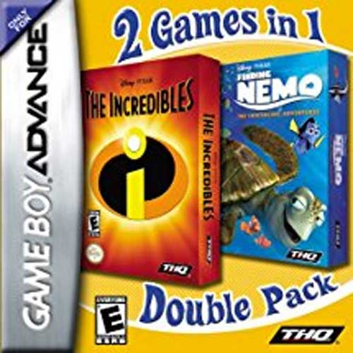 Finding Nemo/Incredibles Double Pack