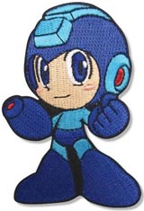 Mega Man Powered Up Posing Mega Man Patch
