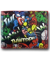 Marvel All-Over Print Characters Bi-Fold Wallet