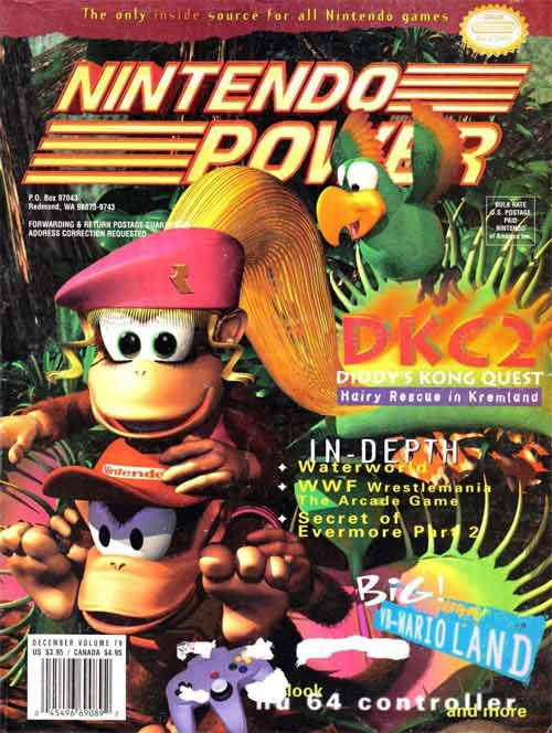 Nintendo Power Volume 79: Donkey Kong Country 2
