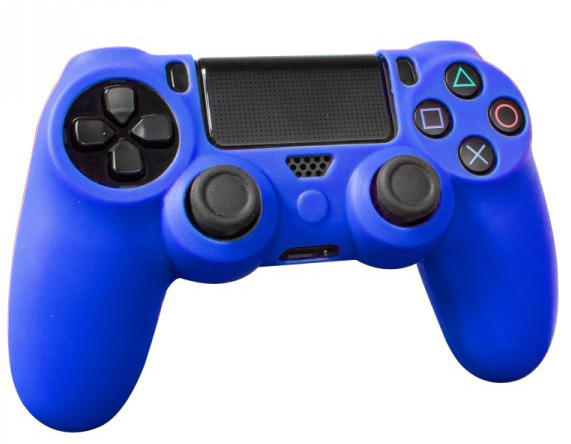 PS4 Controller Silicone Sleeve Blue