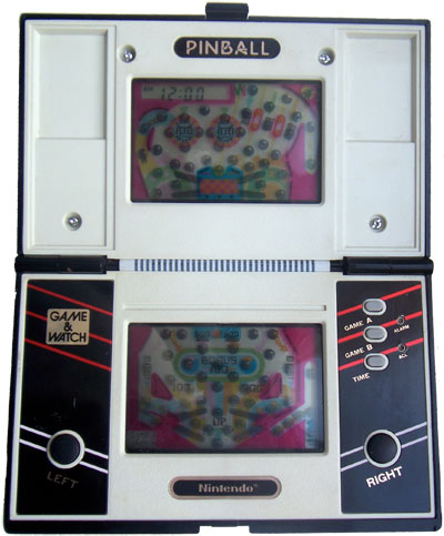 Game & Watch Multi-Screen Series: Pinball