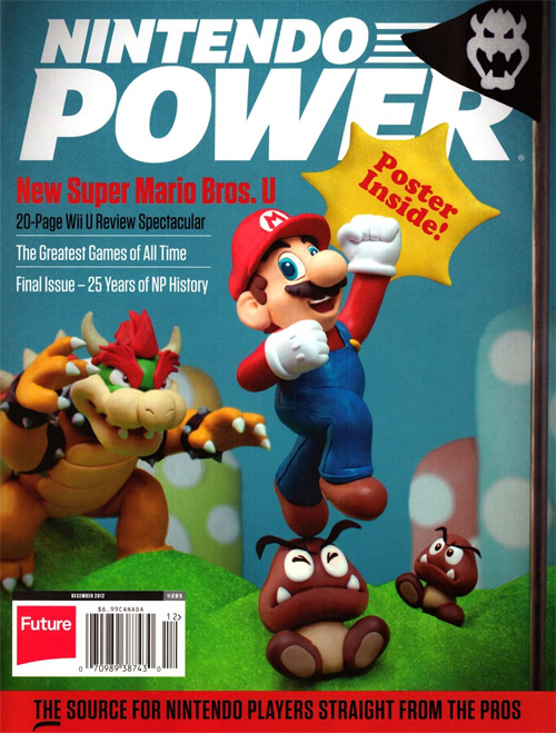 Nintendo Power Volume 285 Final Issue