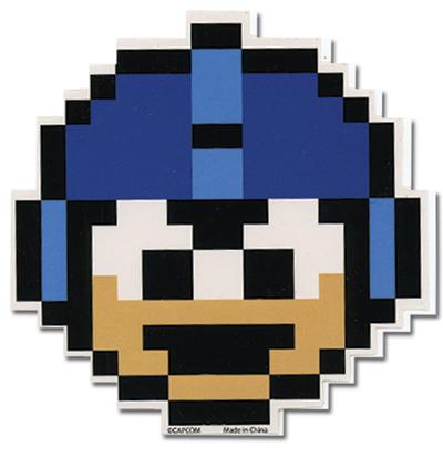 Mega Man 10 1 UP Sticker