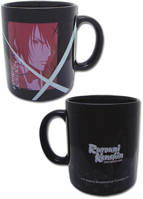 Rurouni Kenshin Black Mug