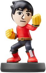 amiibo Mii Brawler Super Smash Bros.