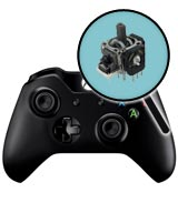 Xbox One Repairs: Controller Single Analog Joystick Replacement