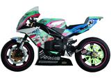 Racing Miku EX:Ride TT-Zero 13: Kai 7 1/2 Inch Motorbike