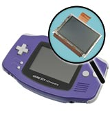 Game Boy Advance Repairs: LCD Screen Replacement Service