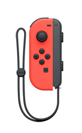 Nintendo Switch Left Neon Red Joy-Con Controller
