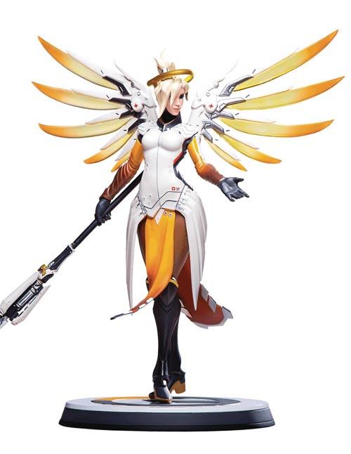 Overwatch: Mercy 12 Inch Statue