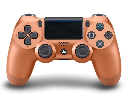 PlayStation 4 Dualshock 4 Controller Metallic Copper