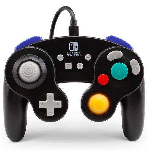 Nintendo Switch Wired GameCube Controller: Black