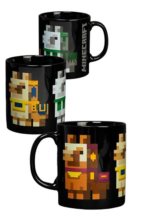 Minecraft Llama Conga Line 11oz Mug whole design