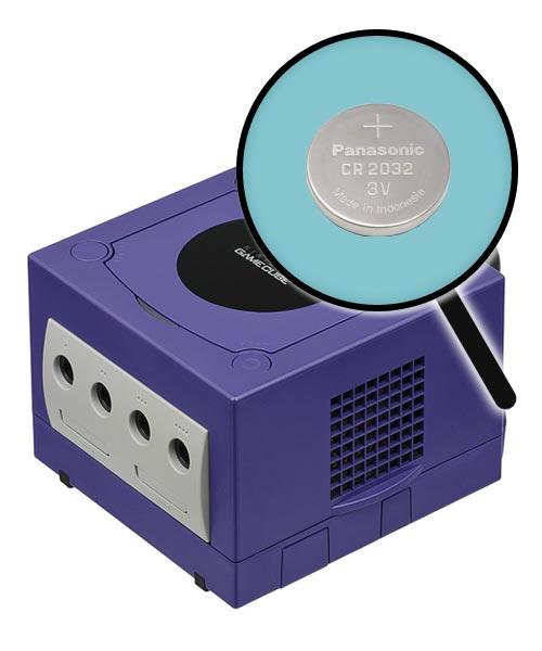 Nintendo GameCube Repairs: Internal Battery Replacement Service