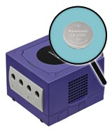 Nintendo GameCube Repairs: Internal Battery Replacement Service