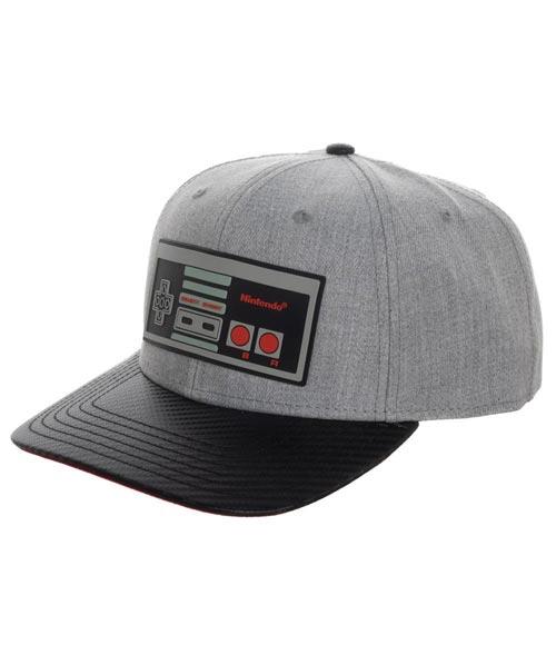 Nintendo NES Controller Carbon Fiber Pre-Curved Snapback