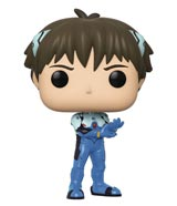 Pop Animation: Neon Genesis Evangelion Shinji Ikari Vinyl Figure