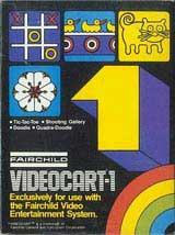 Videocart 1: Tic-Tac-Toe / Shooting Gallery / Doodle / Quadra-Doodle