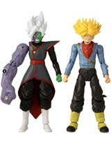Dragon Ball Super Dragon Stars Future Trunks Vs Fusion Zamasu Action Figures