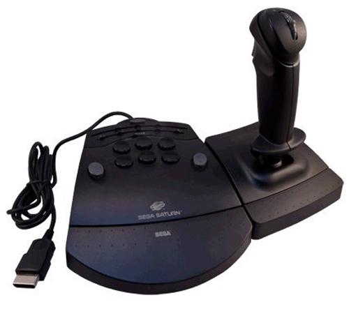 Saturn Mission Stick Control by Sega