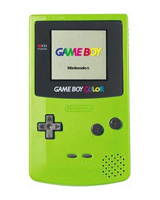 Nintendo Game Boy Color System Kiwi/Green