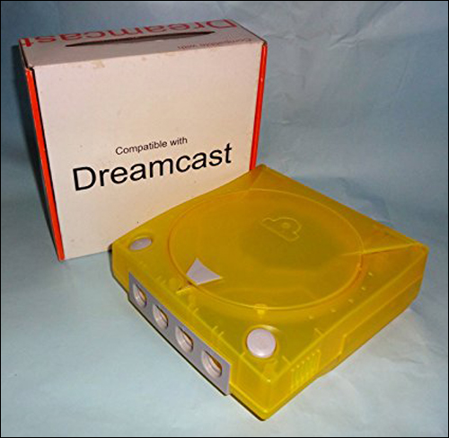 Dreamcast Yellow Color Shell / Case