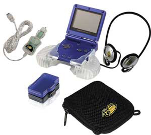 Game Boy Advance SP Starter Kit by MadCatz