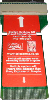 Turbo Grafx 16 Hu Card Converter
