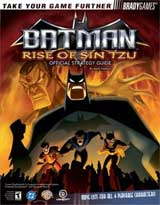 Batman: Rise of Sin Tzu Official Strategy Guide Book
