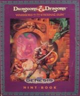 Dungeons & Dragons: Warriors of the Eternal Sun Hint Book