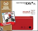 Nintendo DSi XL 25th Anniversary Red Bundle