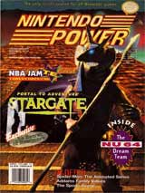 Nintendo Power Magazine Volume 71 Stargate