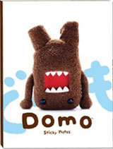Domo-Kun Sticky Notes Stationary Book